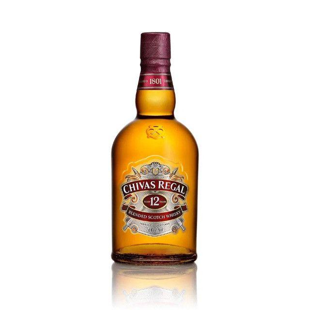 Kit Whisky Chivas Regal 12 Anos 1000ml + 1 Copo Comemorativo