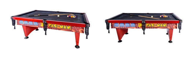 Mesa de Sinuca Pac Man (Pool Table) - mesa de bilhar mais famosa dos Estados Unidos - Foto 2