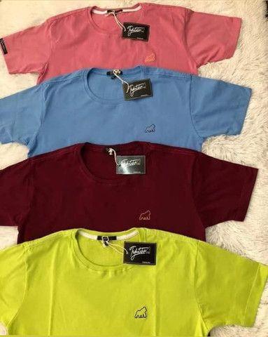 Camiseta 45,00. camiseta básica 35,00 cueca Box microfibra - Foto 3