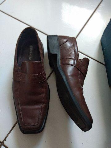 Sapato social usado 1 vez
