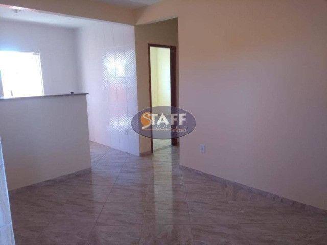 KA- Casa na Planta e com 2 quartos e suíte, em Condomínio, por R$ 100.000 - Unamar - Foto 2