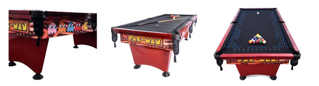 Mesa de Sinuca Pac Man (Pool Table) - mesa de bilhar mais famosa dos Estados Unidos - Foto 5