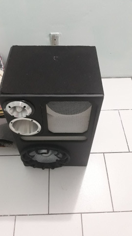 3 meses de uso, rádio Pioneer com subwof + modelo de 1200. - Foto 2