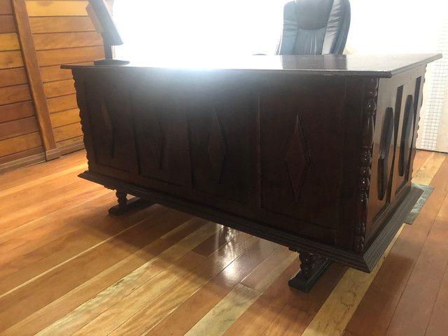 Escrivaninha antiga mesa escritório