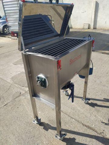 Misturador Ribbon Blender Industrial Produção dia 1.2 toneladas - Foto 2