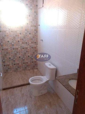 KA- Casa na Planta e com 2 quartos e suíte, em Condomínio, por R$ 100.000 - Unamar - Foto 14
