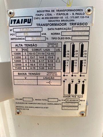 Transformador 45 KVA - Foto 3