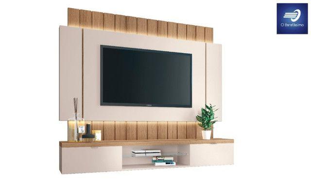 """Home Suspenso com Fitas de LED para TV até 55"""""""