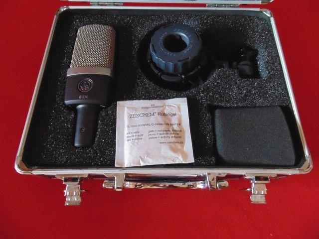Microfone AKG C214 - Original - Made Austria - Parcelo! - Foto 3