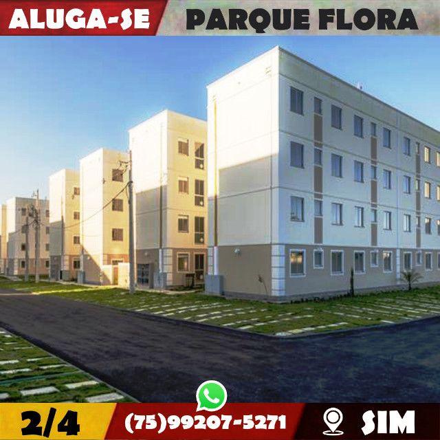 Parque Flora 2/4-Com Armários Na-Cozinha e Banheiro-Bairro-Sim-Feira de Santana-BA