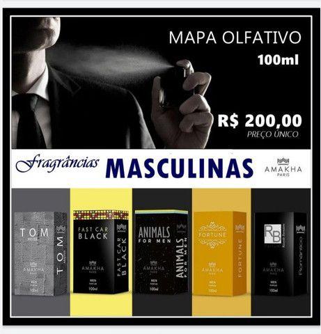 Mega promoção perfumes Amakha Paris importados /versão 100 ml ..