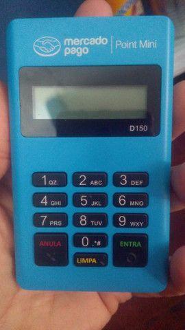 Maquininha de cartão point Mini D 150 Mercado Pago - Foto 2