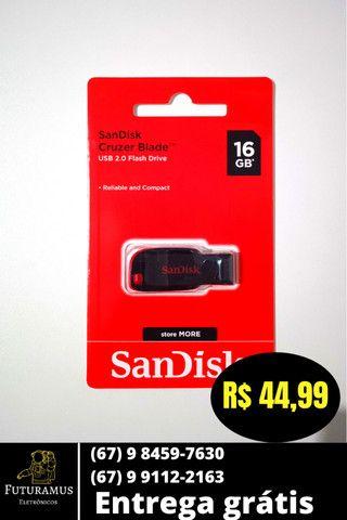 Pendrive 08 GB - 16GB - 32 GB ( Entrega Grátis ) - Foto 2