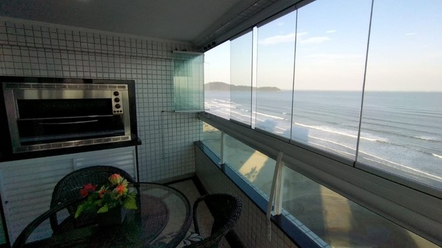 Apartamento alto padrão 3 dormitórios suítes frente mar Campo da Aviação Praia Grande - Foto 6