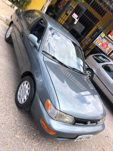 Corolla 93/93 1.8 completo 4 pneus novos roda diamantada carro todo revisado segundo dono  - Foto 3