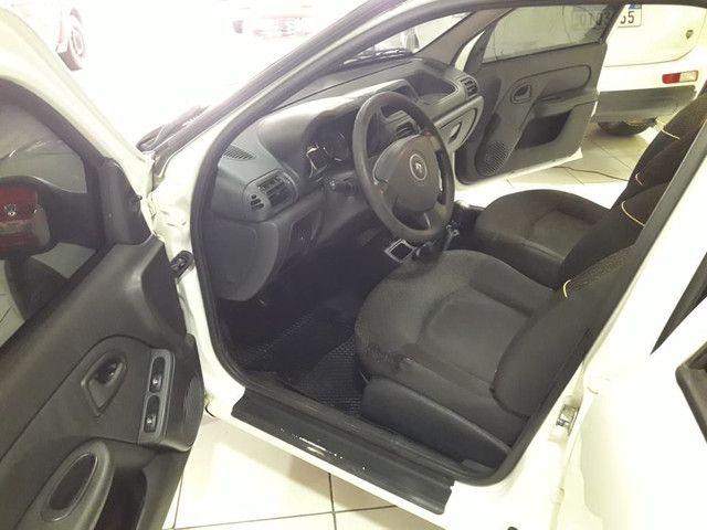 Clio renault 2014 1.0 exp (ent miníma$$$1.000) carro toop - Foto 8