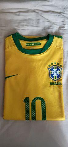 Camisa Seleção Brasil 2010 - Foto 4