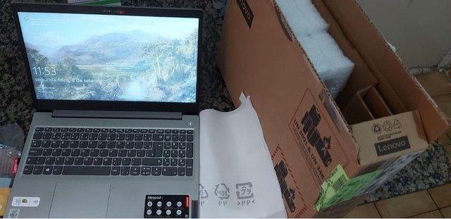 """Notebook Lenovo IdeaPad 15"""" Intel i5 SSD 256GB 8GB - Foto 4"""