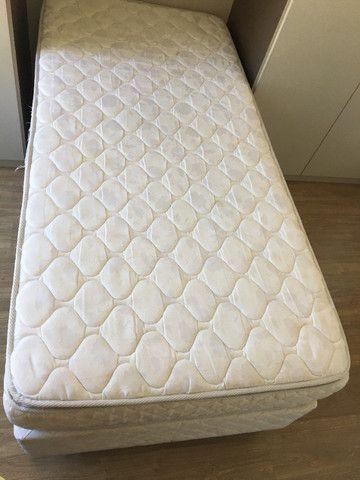 Cama Box Solteiro com Colchão Pillow
