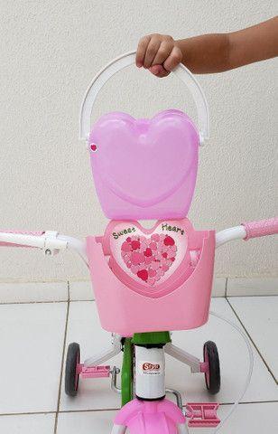 Bicicleta aro 12 Nova prá menina a partir de 2 anos. - Foto 5