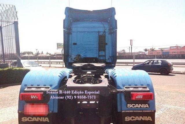 Scania R-440 Streamline Edição 60 anos, rodas em alumínio tanque extra Teto Alto - Foto 4