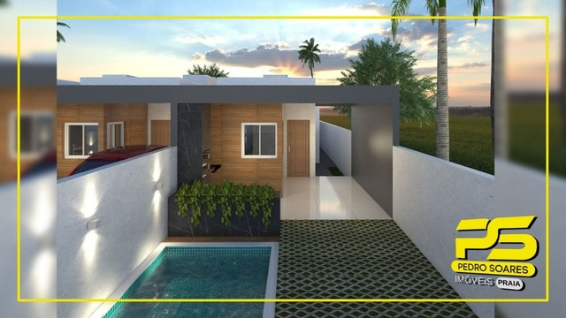 Casa com 2 dormitórios à venda, 74 m² por R$ 195.000 - Cidade Balneária Novo Mundo I - Con