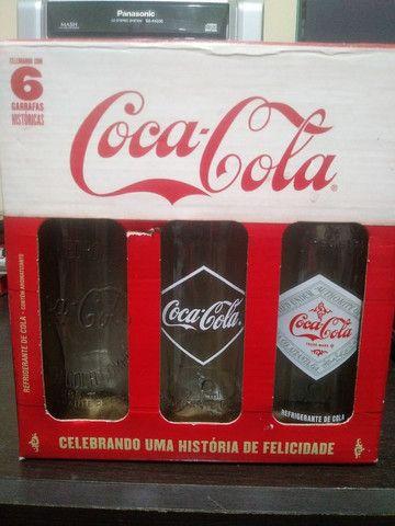 Garrafas coca cola