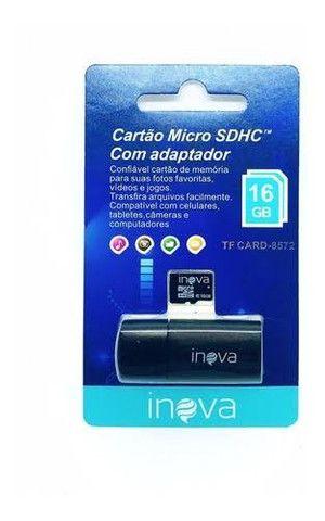 Cartão De Memória Micro Sd 16 GB Inova - Foto 3