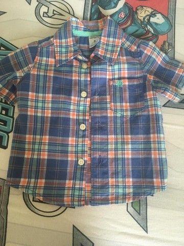 Camisas infantis masculinas - Foto 2