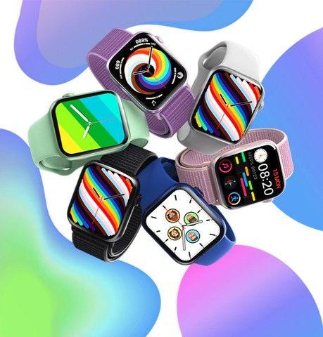 Lançamento hw19 Smartwatch Ultima versão + 2 Brindes