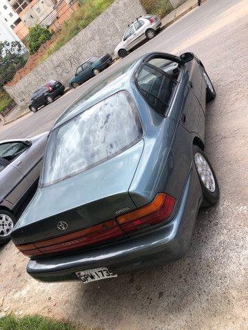Corolla 93/93 1.8 completo 4 pneus novos roda diamantada carro todo revisado segundo dono  - Foto 5