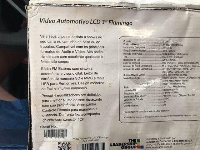 Rádio automotivo com lcd USB controle  - Foto 4
