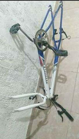 Quadro completo bike ARO 24 - Foto 3