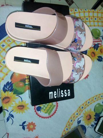 Sandália Melissa Unicórnio