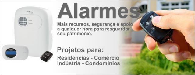 Alarme - Sensor - Venda, Instalação e manutenção