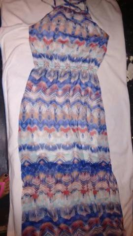 Vestido longo Marisa