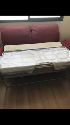 Vendo Sofá cama em otimo estafo forrado recentemente