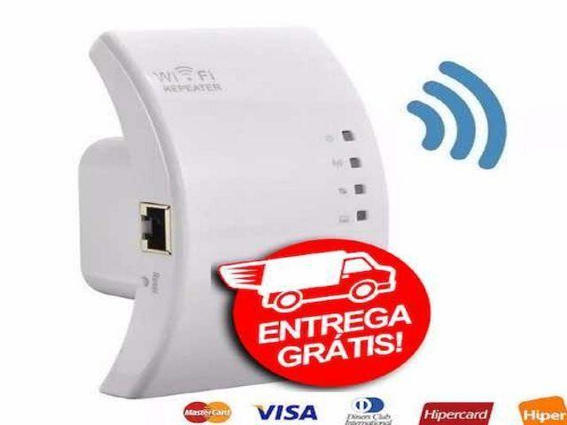 Repetidor Wifi Melhora Sinal 300mbps Amplificador Roteador -Novo-Entrega Grátis