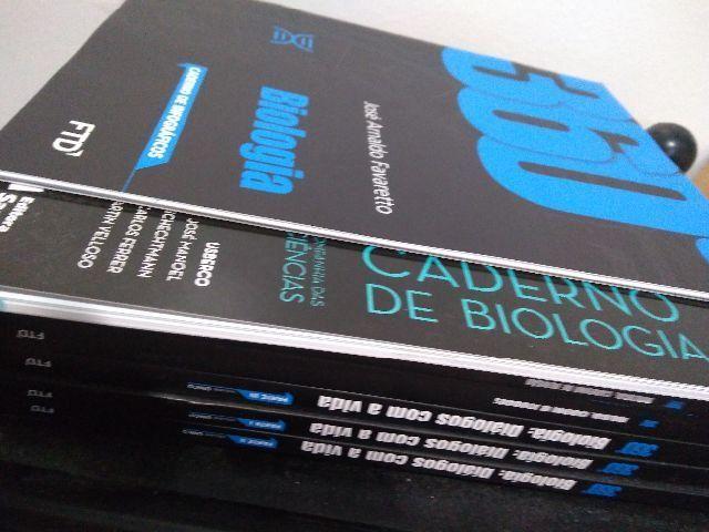 Livro BOX Biologia 360 com 6 livros novos