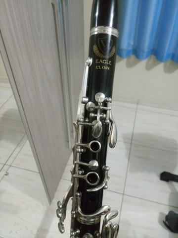Clarinete clarineta eagle semi nova