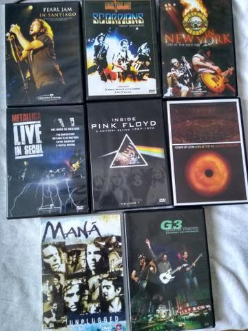 Vendo diversos DVDs