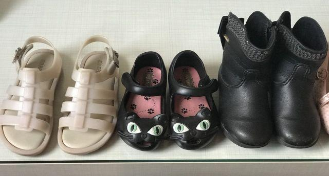 Vendem-se sapatos bem conservados marcas Pampili, Klin e Melissa