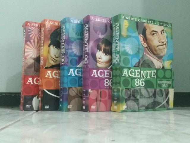 Coleção completa AGENTE 86