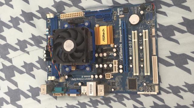 Troco 2 placa mãe am3+ com 2 processadores por placa mãe 1155