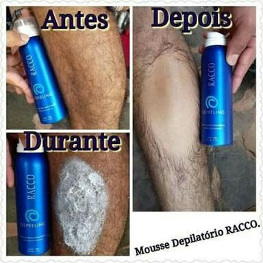 Mousse depilatorio Racco