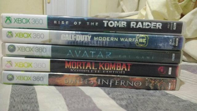 Vendo 5 jogos do Xbox -