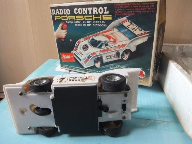 R$ 70 Porsche de controle remoto antigo, acompanha caixa! - Foto 4