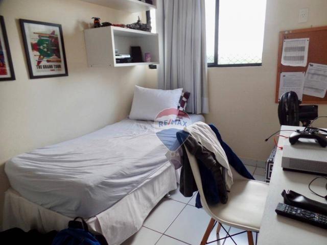 Apartamento com 3 dormitórios à venda, 97 m² por R$ 400.000,00 - Tirol - Natal/RN - Foto 15