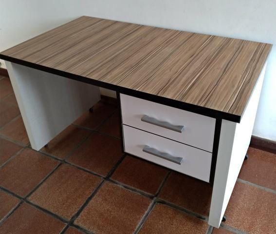 Mesa de Escritório MDF madeirado - Foto 5