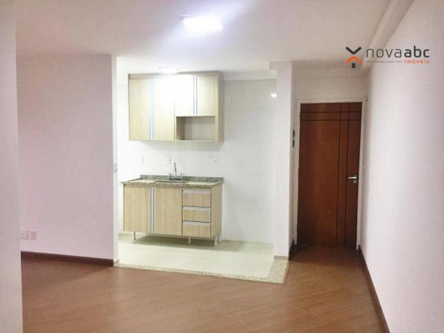 Apartamento com 2 dormitórios à venda, 54 m² por R$ 212.000 - Parque das Nações - Santo An - Foto 2
